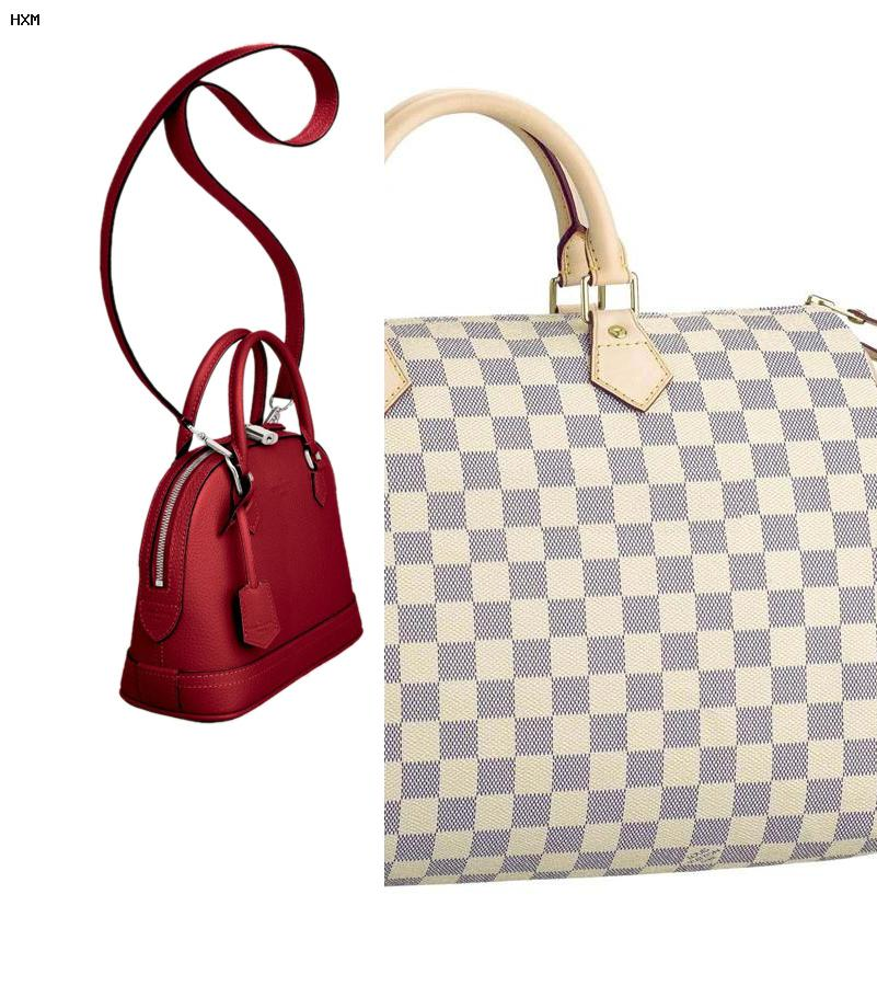les differents produits de louis vuitton